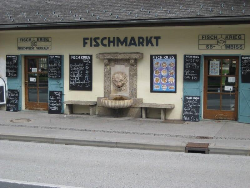 Fisch Krieg Fischlokal